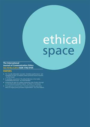 Ethical Space Vol. 10 Issue 4