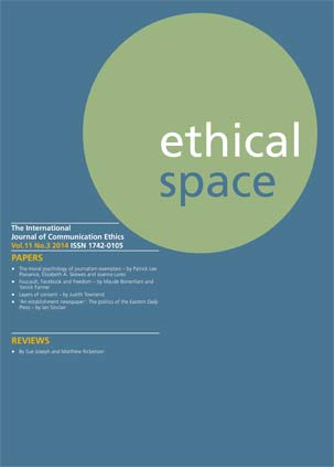 Ethical Space Vol. 11 Issue 3