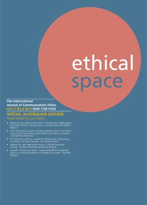 Ethical Space Vol. 11 Issue 4